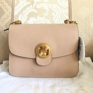 Chloe Mily textured-leather and suede bag
